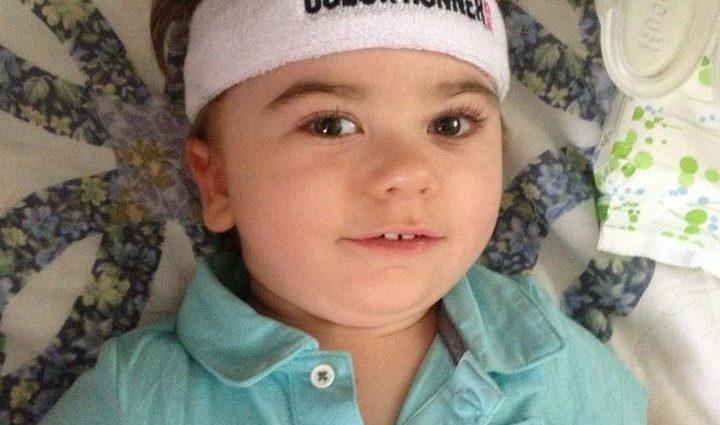 Little boy with Rettsyndrome